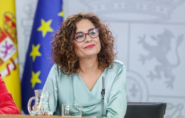 María Jesús Montero, ministra de Hacienda, portavoz del Gobierno