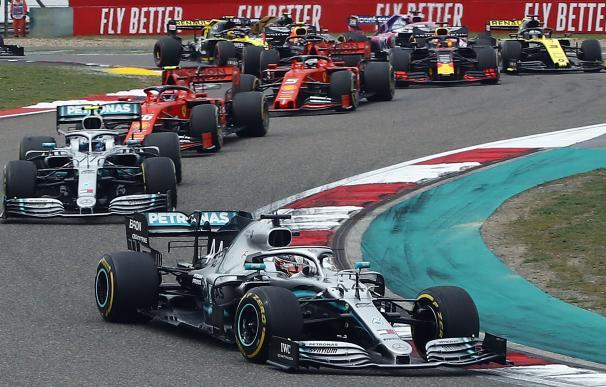 Lewis Hamilton en el GP de China