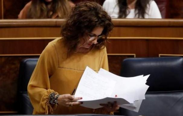 Fotografía María Jesús Montero / EFE