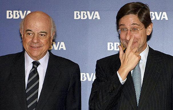 Francisco González y José Ignacio Goirigolzarri