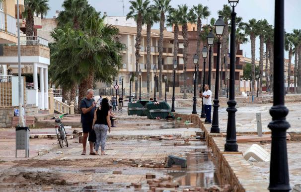 El paseo marítimo Los Alcázares (Murcia). / EFE