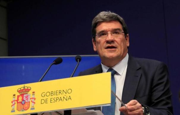 Fotografía José Luis Escrivá, ministro de Seguridad Social / EFE