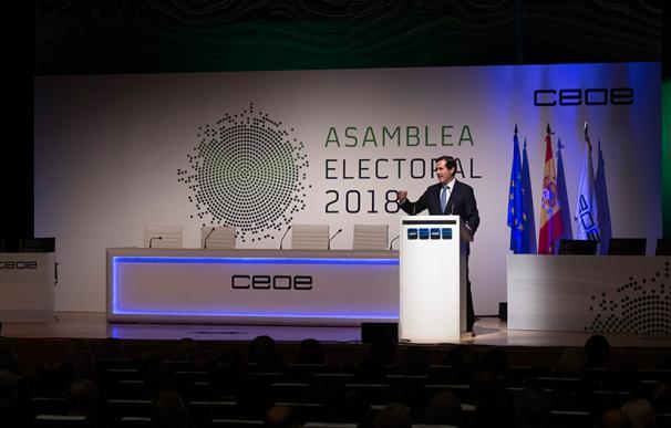 Antonio Garamendi, ante auditorio empresarios / Cepyme