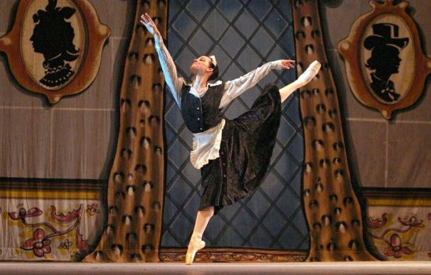 Bailarina del Ballet Nacional