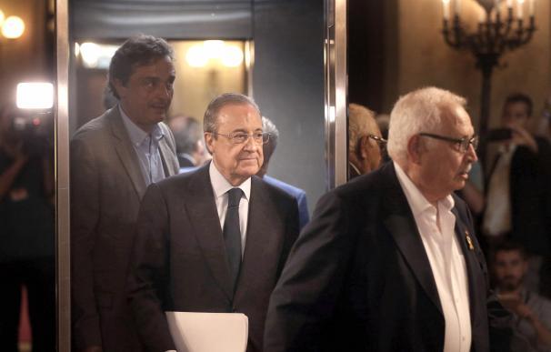 Florentino Pérez asegura que no intervino en Castor