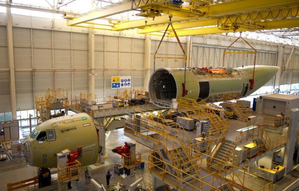 Airbus Military comienza el montaje final del segundo A-400M de serie