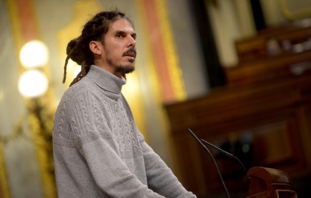 Fotografía de Alberto Rodríguez, de Unidos Podemos