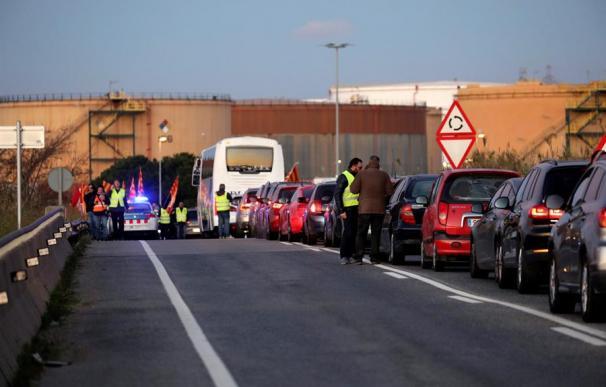 Huelga petroquímica Tarragona