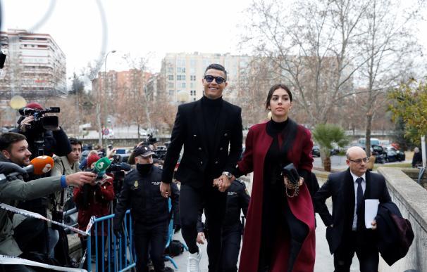 Georgina y Ronaldo. / EP