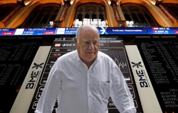 Amancio Ortega es la mayor fortuna española.