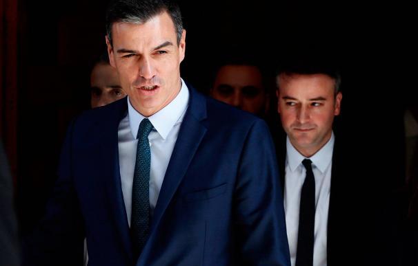 Iván Redondo, el hombre en la sombra detrás de Pedro Sánchez y verdadero zar todopoderoso de Moncloa./ EFE
