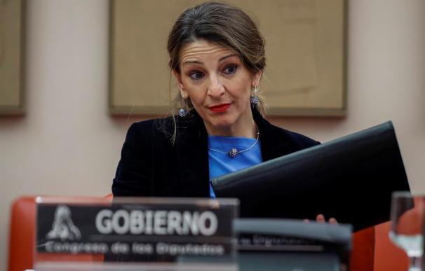 Yolanda Díaz Congreso de los Diputados
