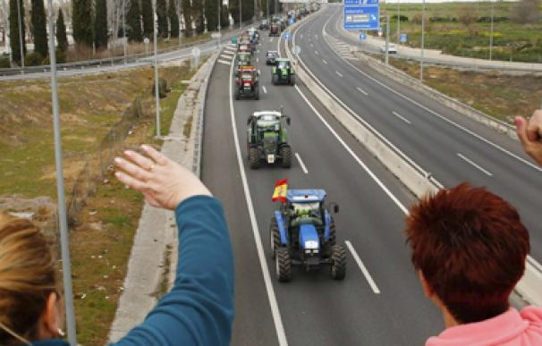 Protesta campo Granada