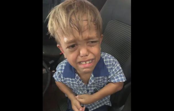 Fotografía de Quaden, el niño que sufre bullyng en un colegio de Brisbane.