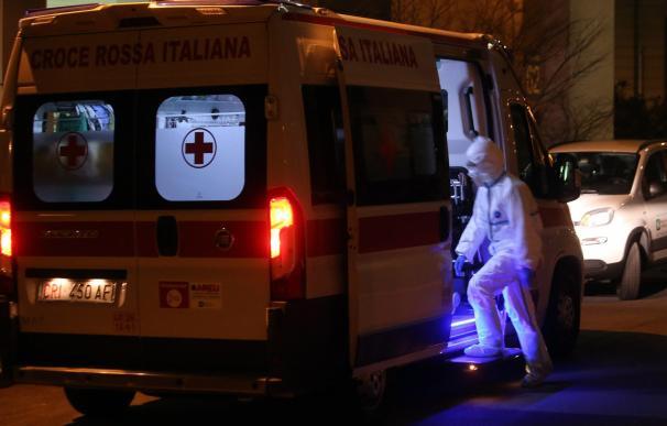 Italia confirma su primera muerte por coronavirus, un hombre de 78 años