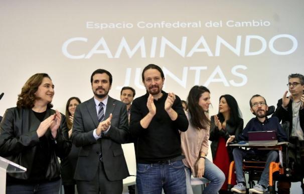 """Iglesias cierra filas con Sánchez y hace alarde de la unidad """"que no se esperaba"""""""