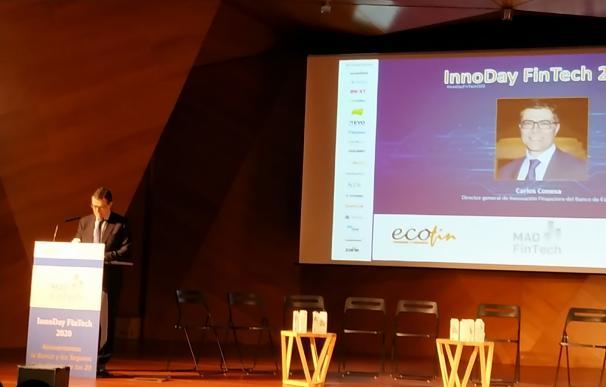 Carlos Conesa, Director General de Innovación Financiera del Banco de España en la inauguración del 'Innoday fintech 2020'