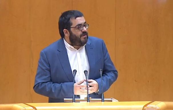 El senador de MÉS, Vicenç Vidal.