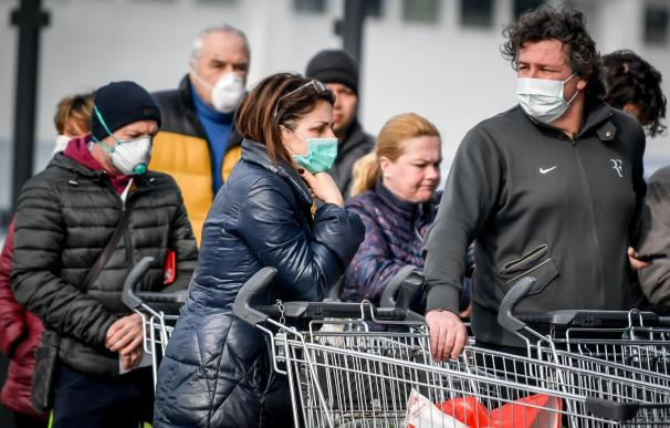 El número de casos de coronavirus en Italia rebasa ya el centenar