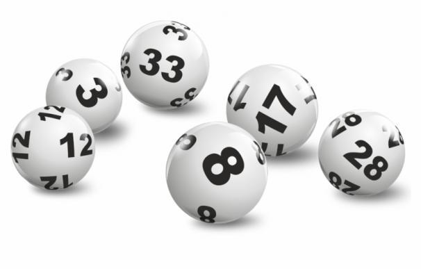 Fotografía de bolas de la lotería.