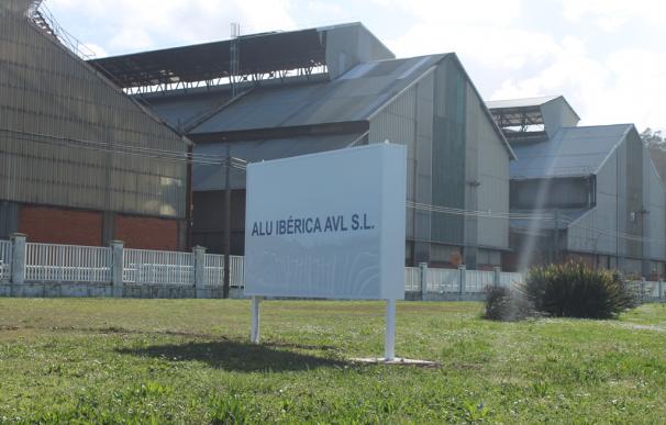 Planta de la antigua Alcoa en Avilés (Asturias).