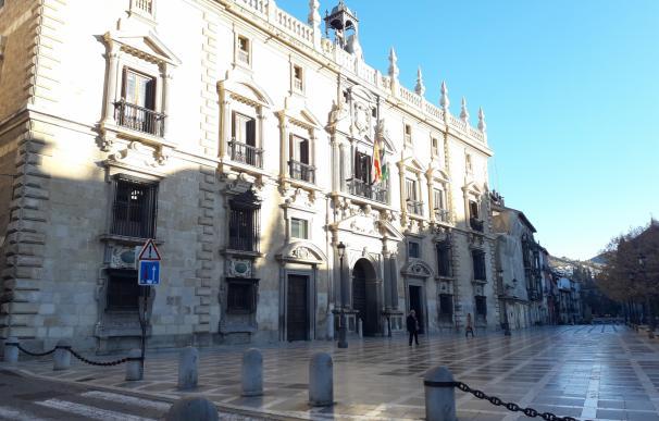 Real Chancillería de Granada, sede del TSJA y de la Audiencia de Granad