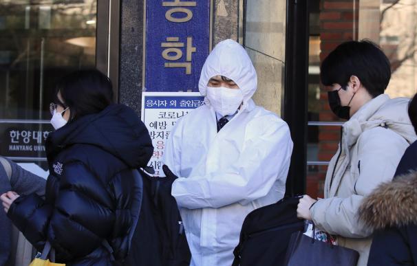 Brote de coronavirus en Corea del Sur.