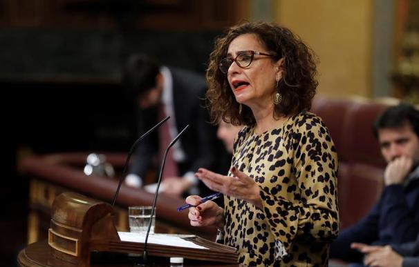 María Jesús Montero Congreso de los Diputados