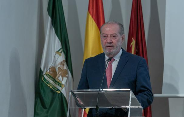 El presidente de la Federación Andaluza de Municipios y Provincias (FAMP), Fernando Rodríguez Villalobos.