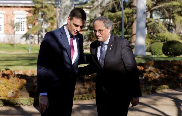 Mesa de diálogo para solucionar el conflicto político en Cataluña
