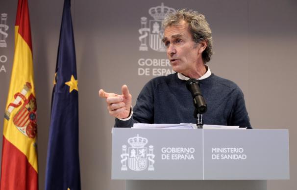 Fernando Simón, director del Centro de Coordinación y Emergencias Sanitarias del Ministerio de Sanidad