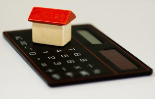 Fotografía de una hipoteca.