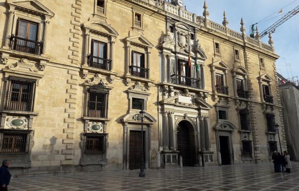 Edificio de la Real Chancillería de Granada y sede del TSJA