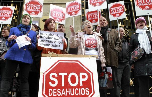 Protesta contra el IRPH.