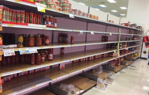 Supermercado en Bérgamo./ Cedida