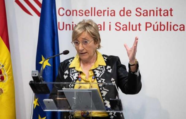 Barceló, durante la rueda de prensa que ha ofrecido con las últimas novedades sobre el coronavirus. / EFE