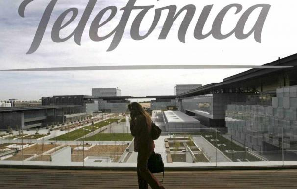 Sede de Telefónica en Madrid. EFE