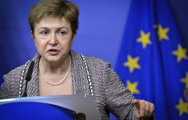 La búlgara Kristalina Georgieva. / EFE