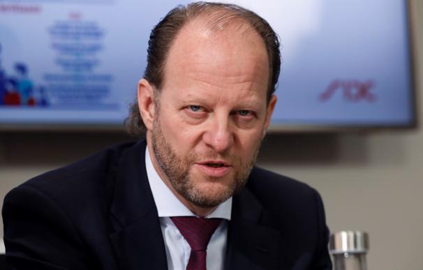 Jos Dijsselhof, consejero delegado de SIX Group. / Efe