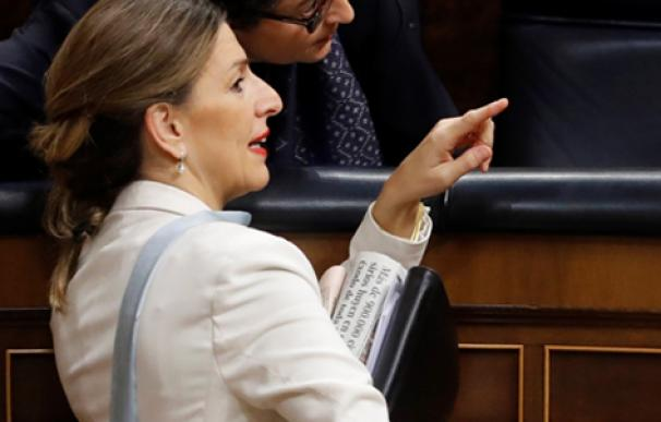 Yolanda Díaz, ministra de Trabajo. /EFE