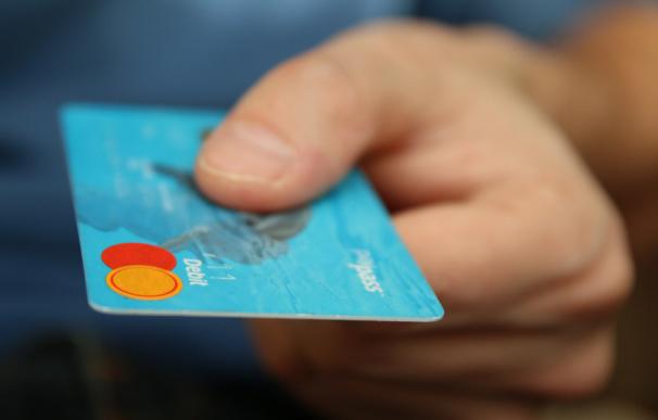 Foto de archivo: tarjetas de crédito