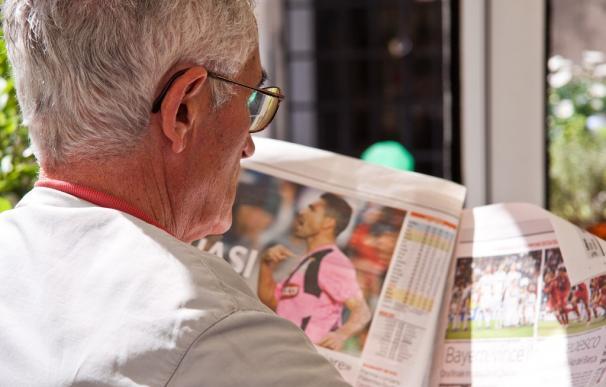 Fotografía de un pensionista.