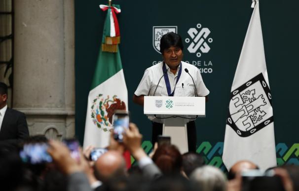 Evo Morales en México. / EFE