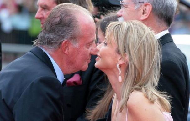 La aristócrata Corinna con el rey Juan Carlos.