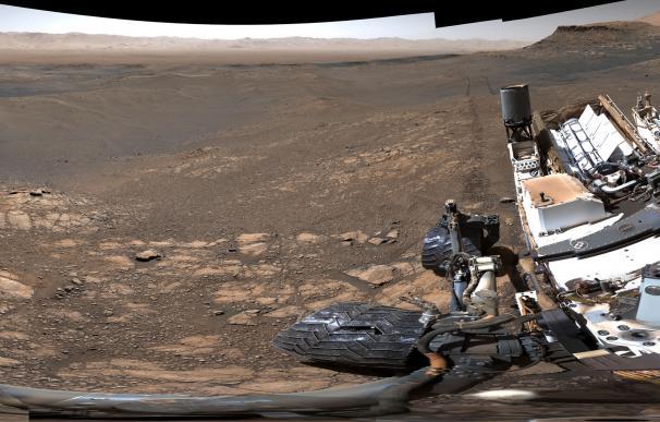 Fotografía de la superficie de Marte desvelada por la NASA: