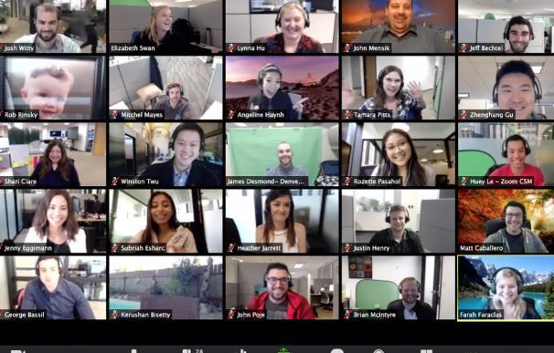 Zoom busca hacerse más hueco en el segmento de las videoconferencias.