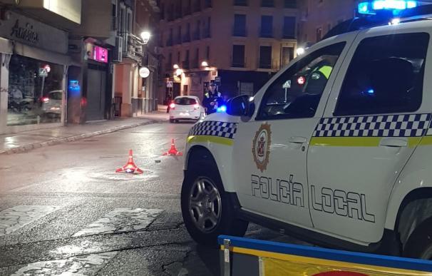 Control de alcohol y drogas de la Policía Local de Jaén.