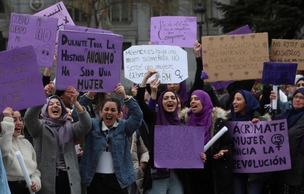 Manifestación por el Día de la Mujer, este domingo en Madri