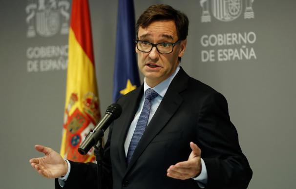 Ministro de Sanidad, Salvador Illa