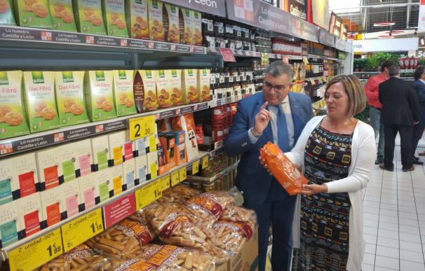 Promoción de productos de CyL en Carrefour